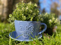 LARGE CERAMIC TEAPOT GARDEN PLANTER
