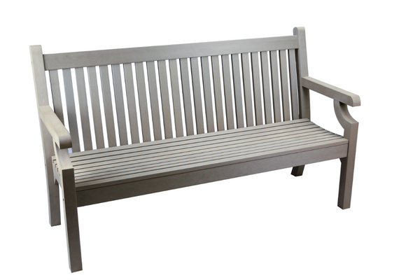 WINAWOOD SANDWICK 3 SEAT BENCH - GREY