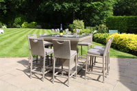 Villa Bar Set With Ice Bucket - Taupe