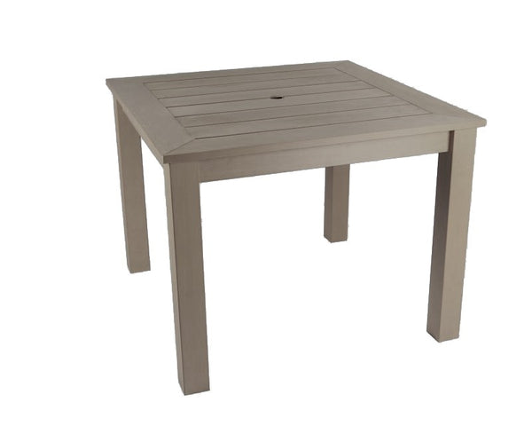 Square Winawood Dining Table 98x98x76cm - Aged Teak
