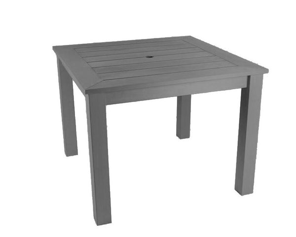 Square Winawood Dining Table 98x98x76cm - Grey