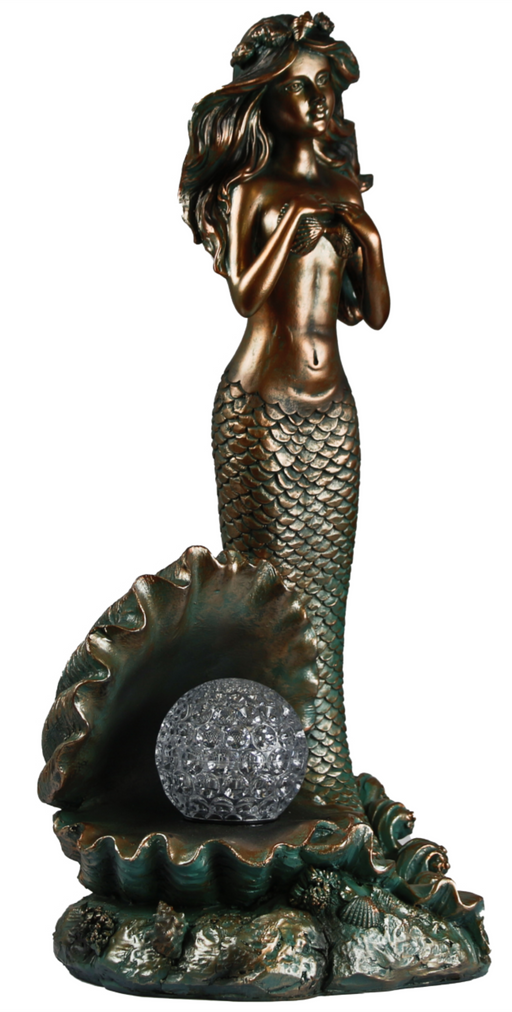 MERMAID ROTATING SOLAR LIGHT BALL
