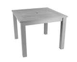 Square Winawood Dining Table 98x98x76cm - Stone Grey