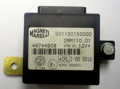 Software module 3 – Fiat, Lancia IMM110.01 immobox Marelli