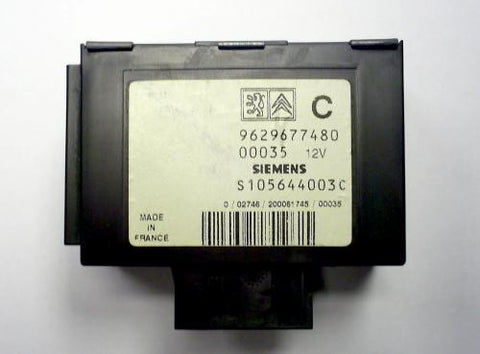 Software module 11 – Peugeot, Fiat, Citroen immobox Siemens