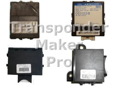 Software module 153 -Toyota, Lexus, Peugeot, Citroen immobox with ID 4D-67, 4D-68 and 4D-70