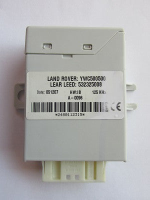 Software module 199 – Range Rover Vogue immobox