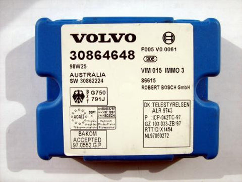 Software module 34 – Volvo IMMO3 immobox Bosch