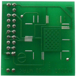 912B Adapter for Orange5 - for (9)12B32 QFP80 (for soldering)