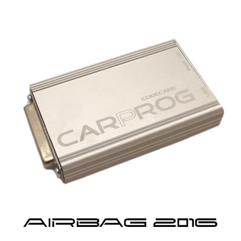CARPROG software update for 2016 AIRBAGS