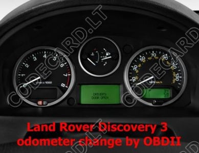 S7 23 - Odometer repair by OBDII for LandRover Discovery 3