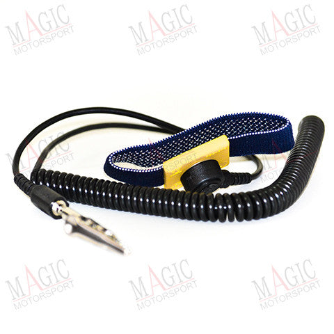 MAGICMOTORSPORT - Antistatic wrist band with 1.8m connection wire