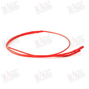 MAGICMOTORSPORT - RED x3 faston wire for ECU power supply on the bench