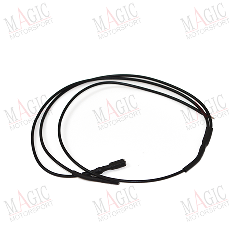 MAGICMOTORSPORT - BLACK x2 faston wire for ECU power supply on the bench