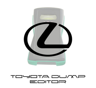Toyota dump editor - software update