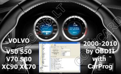 S7.9 - Dashboard repair by OBDII for Volvo 2000-2010 year