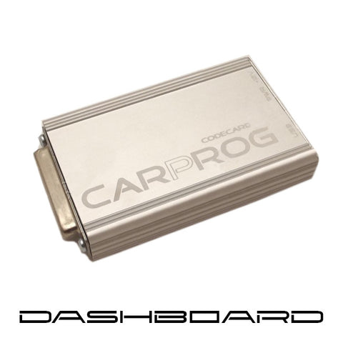 CARPROG DASHBOARD - with all software's and adapters needed for dashboard programming till now.