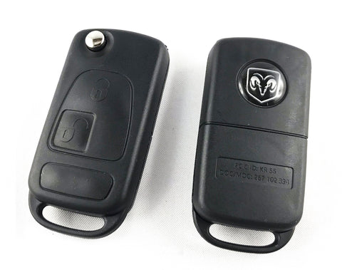 Dodge Sprinter 2 buttons flip key (HU64)