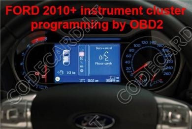 S  Dashboard Repair By Obdii For Ford