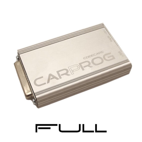 CARPROG FULL - with all Software's activated and all Adapters included till now.