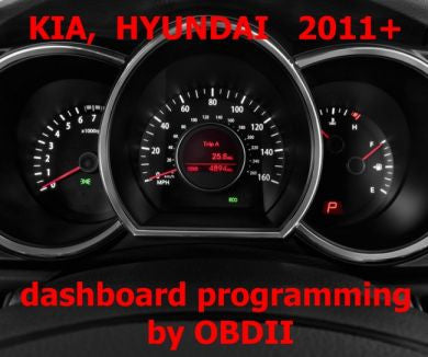 S7.38 - Dashboard repair by OBDII for KIA, Hyundai 2011+