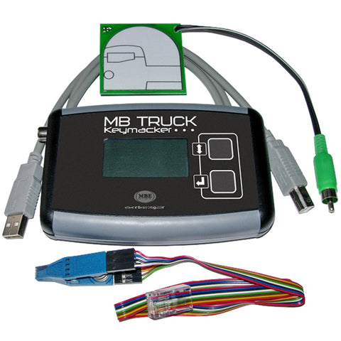 MB Trucks keymaker - software + interface