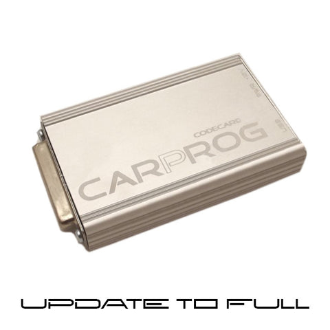 CARPROG software update to FULL version (all softwares ready for sale at the moment -on the date of your purchase).