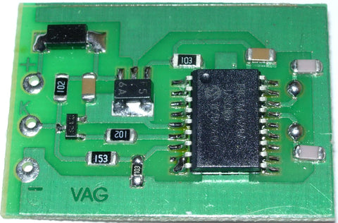 VAG IMMO emulator was developed for use with VAG group (Volkswagen, Audi, Seat, Skoda) vehicles to emulate immobiliser system in ECU's and diesel pumps up to year 2001.