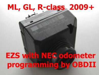 EZS odometer programmer by OBDII for Mercedes ML W164, GL X164, R-Class 2009+