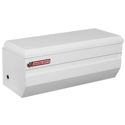 "Weather Guard  Steel All-Purpose Compact Chest in Brite White #675-3-01 19.25"" H x 20.25"" W x 47"" L"