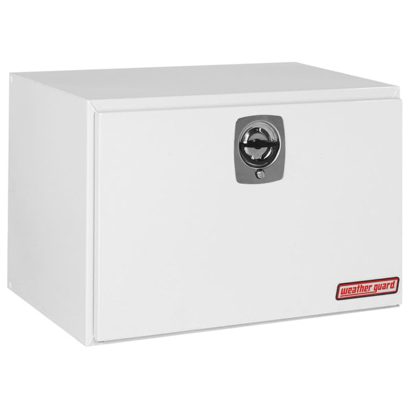 "Weather Guard Steel Underbed Truck Box in White #538-3-02 24.125"" H x 24.25"" W x 36.625"" L"