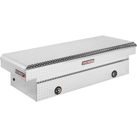 "Weather Guard Aluminum Extra Wide Full-Size Truck Tool Box in Silver #117-0-02 18.5"" H x 27.5"" W x 71.5"" L"