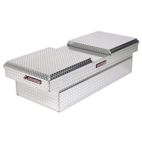 "Weather Guard Alumnium Full Size Truck Tool Box in Silver #114-0-01 18.5"" H x 27.5"" W x 71.5"" L"
