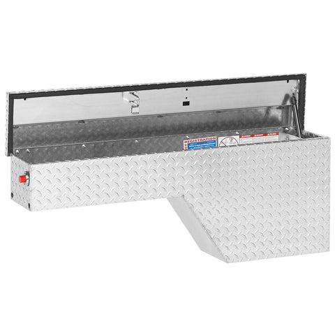 "Weather Guard Aluminum Pork Chop Box  #170-0-01 19.5"" H x 9.25"" W x 46.75"" L"