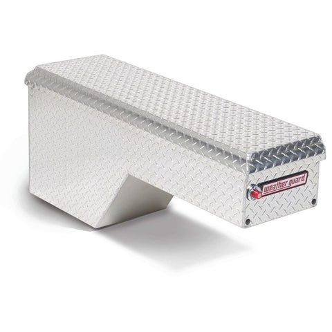 "Weather Guard Aluminum Passenger Side Pork Chop Box #171-0-01 19.5"" H x 9.25"" W x 46.75"" L"