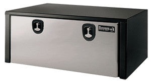 "Buyers Products Aluminum Step Truck Tool Box with T-Handle Latch #1705183 24""H x 28""D x 30""W"