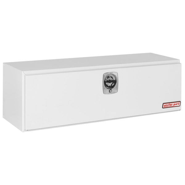 "Weather Guard Steel Underbed Truck Box in White  #560-3-02  18.125"" H x 18.25"" W x 60.125"" L"