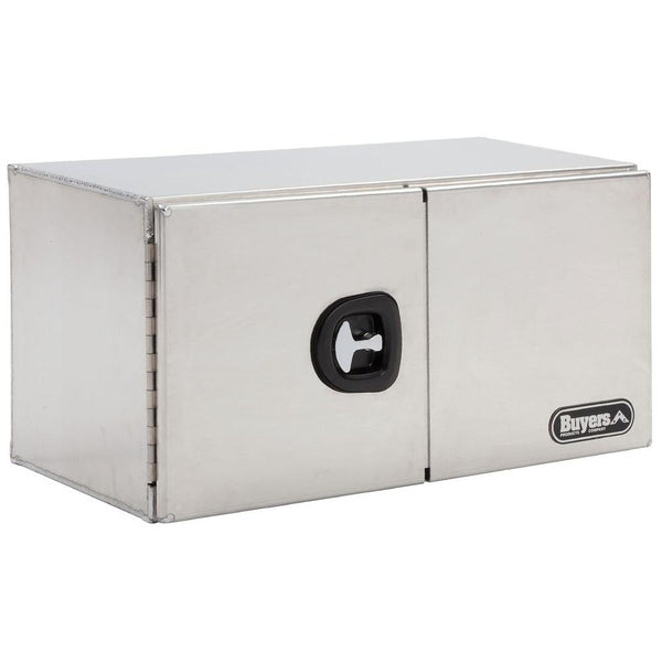 "Buyers Products Double Barn Door style Aluminum Truck Tool Box #1705310 18""H x 18""D x 48""W"