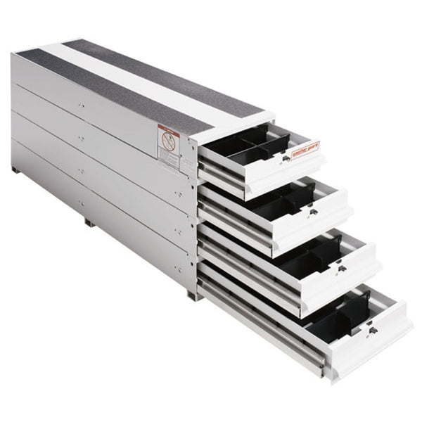 Weather Guard #328-3 ITEMIZER® Van Drawer Unit, Stacked, 49 in x 12-1/4 in x 23-1/2 in