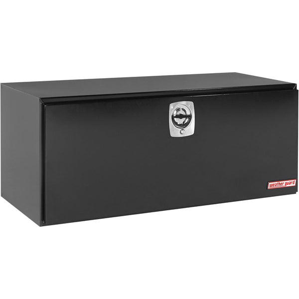 "Weather Guard Steel Underbed Truck Box in Black  #562-5-02  24.125"" H x 24.25"" W x 60.125"" L"