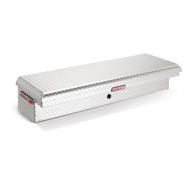 "Weather Guard Low Profile Standard Aluminum Passenger Side Lo-Side Box, #179-0-01  11.75"" H x 19.25"" W x 59.25"" L"
