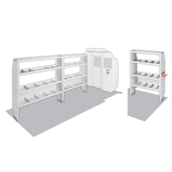 Weather Guard Model 600-8440L Commercial Shelving Van Package, High-Roof, PROMASTER