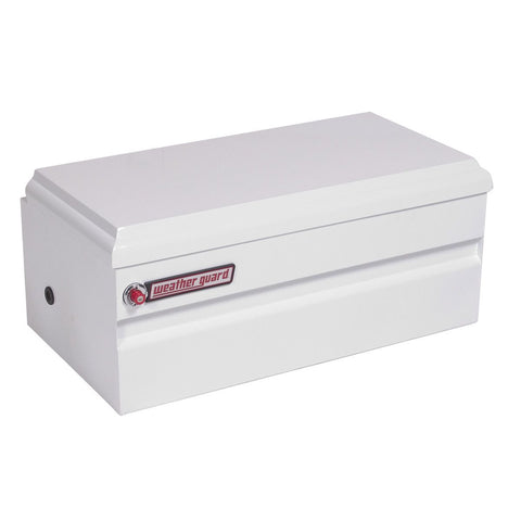 "Weather Guard All-Purpose Truck Chest  Steel in White #645-3-01  16.25"" H x 20.25"" W x 36.75"" L"