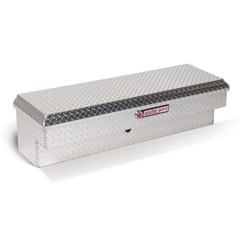 "Weather Guard Short Aluminum Lo-Side Truck Box  #184-0-01 13.25"" H x 16.25"" W x 47.25"" L"