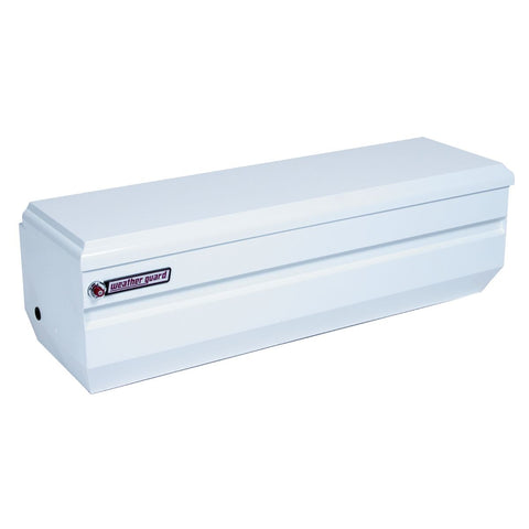 "Weather Guard Steel All-Purpose Chest in Brite White #665-3-01 19.25"" H x 20"" W x 62"" L"