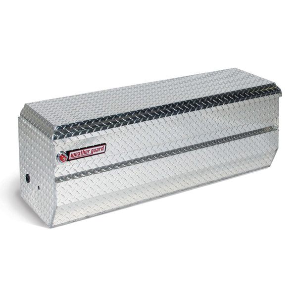 "Weather Guard Aluminum Full Compact All-Purpose Chest  #674-0-01 19.25"" H x 20.25"" W x 47"" L"