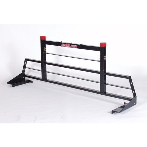 "Weather Guard Protect-A-Rail Heavy Duty Truck Cab Protector in Black #1908,  26.375"" H x 71"" L"