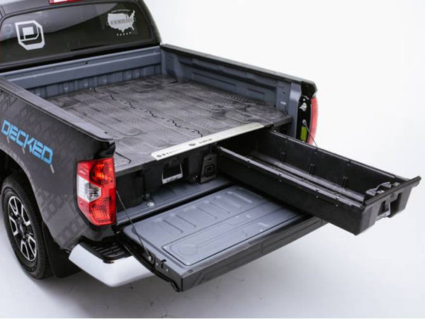 "2012 Toyota Tundra Truck Tool Boxes with Drawers by DECKED #DT1 (5'7"" Bed Length)"