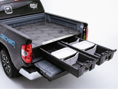 2016 toyota tundra truck tool boxes with drawers by decked #dt1 (5'7 ...
