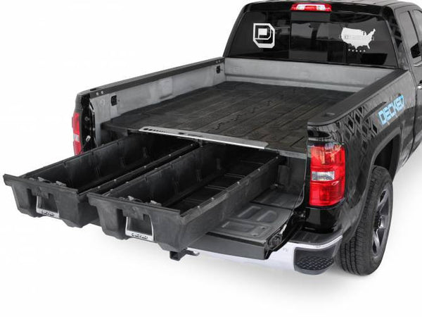 "2004 Ford F150 Heritage Truck Tool Boxes with Drawers by DECKED #DF1 (6'6"" Bed Length)"